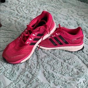 Adidas Energy Boost size 9.5 hot pink
